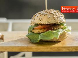Jak zrobić wegetariańskie danie - burger fasolowy