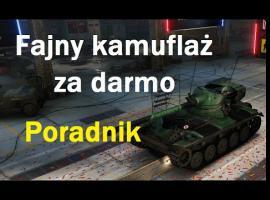Jak mieć kamuflaż za darmo w World of Tanks