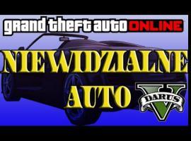 Jak stworzyć niewidzialne auto w GTA V Online