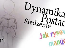 Jak rysować postacie - siedzenie w dynamice rysunku
