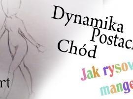 Jak rysować postacie - chód w dynamice postaci