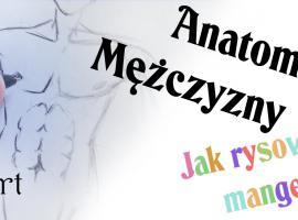 Jak narysować mężczyznę - anatomia w rysunku