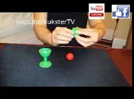 Jak wykonać sztuczkę z piłeczką i wazą