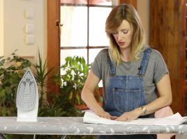 Jak prasować koszulę z długimi rękawami