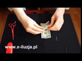 Jak zrobić sztuczkę w stylu Dynamo - trik z banknotem