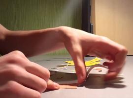 Jak złożyć postać z bajki z papieru - Spongebob Kanciastoporty