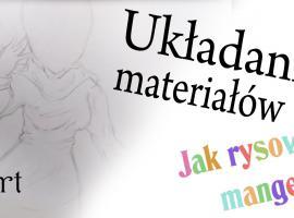 Jak rysować mangę - układanie się ubrań na postaci