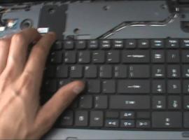 Jak wymienić klawiaturę w Acer Aspire 7540G