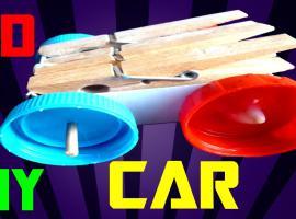 Jak zrobić mega prosty samochodzik z napędem