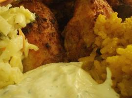 Jak zrobić ryż w curry i pieczone skrzydełka