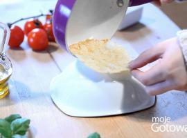 Jak zrobić koszyczek z parmezanu
