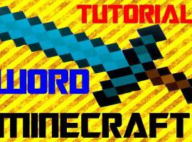 Jak zrobić diamentowy miecz Minecraft