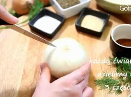 Jak zrobić kwiat z cebuli