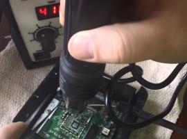Jak wylutować układ BGA stacją lutowniczą na gorące powietrze