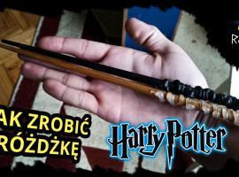Jak zrobić różdżki z filmu Harry Potter