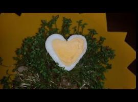 Jak zrobić jajko w kształcie serca