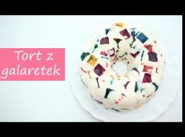 Jak zrobić tort z galaretek