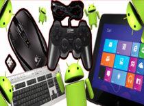 Jak używać myszki, klawiatury i pada na tablecie i telefonie