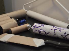 Jak wykorzystać rolki tekturowe - 6 sposobów