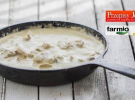Jak przygotować pierś w sosie pieczarkowym