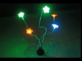 Jak zrobić kwiatki LED