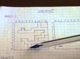 Jak grać w labirynt - gry i zabawy na kartce