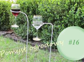 Jak zrobić ogrodowy stojak na kieliszki