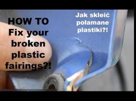 Jak naprawić popękane plastiki w motocyklu