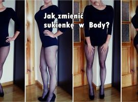 Jak przerobić sukienkę w body