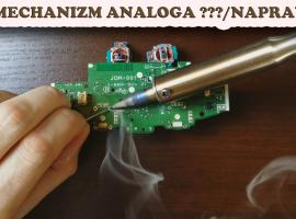 Jak naprawić pada PS4 - wymiana mechanizmu analoga