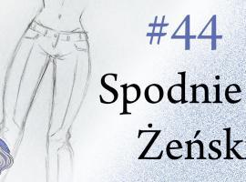Jak rysować spodnie żeńskie