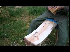 Jak strugać siedzisko ławki