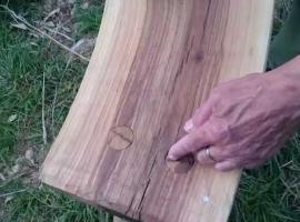 Jak zrobić ławkę 1/3 - wstępna obróbka