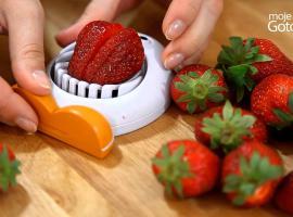 Jak sprytnie pociąć truskawki