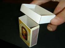 Jak wykonać sztuczkę z pudełkiem zapałek