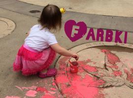 Jak zająć dziecko w parku - farby na zewnątrz