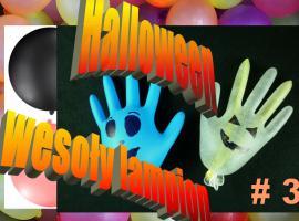 Jak zrobić świecące duszki z rękawiczek na Halloween
