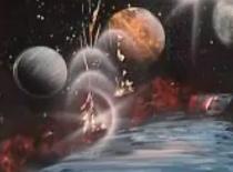 Jak namalować planety za pomocą spreju - Spacepainting