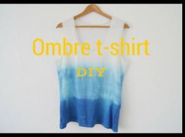 Jak zrobić t-shirt w stylu ombre