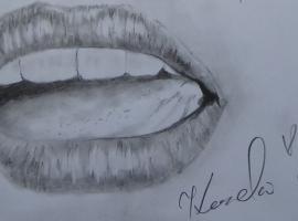 Jak narysować namiętne usta