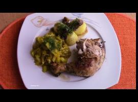 Jak zrobić udka w sosie pieczarkowo koperkowym bez tłuszczu