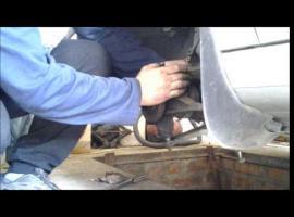 Jak wymienić łożysko koła w Peugeot 406