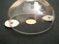 Jak wyciągnąć monetę spod szklanki