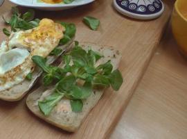 Jak zrobić sniadanie - Ciabata z boczkiem i jajkiem
