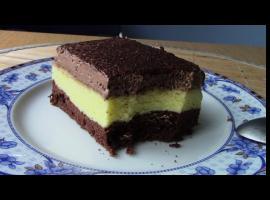 Jak zrobić sernik na murzynku z czekoladową pianką