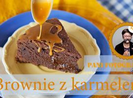 Jak zrobić ciasto brownie z karmelem
