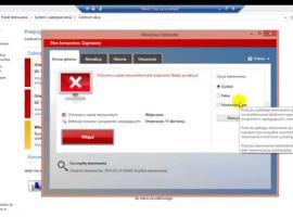 Jak wyłączyć Windows Defender Antywirus w Windows 8.1
