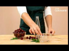 Jak drylować wiśnie bez maszynki