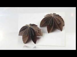 Jak wykonać składany kwiat origami