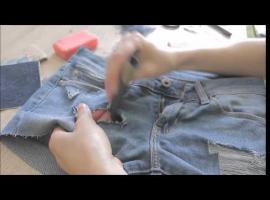 Jak przerobić stare dżinsy na modne szorty